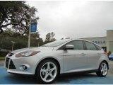 2012 Ingot Silver Metallic Ford Focus Titanium 5-Door #75457191