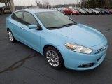 2013 Laguna Blue Dodge Dart Limited #75457613