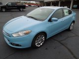 Laguna Blue Dodge Dart in 2013