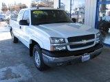 2004 Summit White Chevrolet Silverado 1500 Z71 Extended Cab 4x4 #75457894