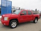 2011 Victory Red Chevrolet Silverado 1500 LTZ Crew Cab 4x4 #75457179