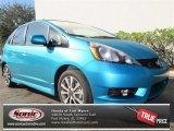 2013 Blue Raspberry Metallic Honda Fit Sport #75457035