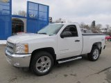 2013 Summit White Chevrolet Silverado 1500 LT Regular Cab 4x4 #75457172