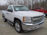 2013 Chevrolet Silverado 1500 LT Regular Cab 4x4 Front 3/4 View