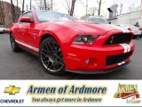 2011 Race Red Ford Mustang Shelby GT500 SVT Performance Package Coupe #75457316