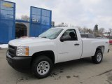 2013 Summit White Chevrolet Silverado 1500 Work Truck Regular Cab 4x4 #75457170