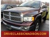 2004 Deep Molten Red Pearl Dodge Ram 1500 SLT Quad Cab 4x4 #75457591