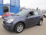 2013 Atlantis Blue Metallic Chevrolet Equinox LS AWD #75457169