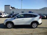 2013 White Diamond Pearl Honda CR-V EX AWD #75457723