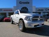 2011 Bright Silver Metallic Dodge Ram 1500 Big Horn Quad Cab 4x4 #75457310