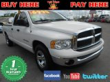 2003 Bright White Dodge Ram 1500 SLT Quad Cab #75457716
