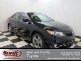 2012 Attitude Black Metallic Toyota Camry SE #75457574