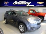 2013 Atlantis Blue Metallic Chevrolet Equinox LS AWD #75457847