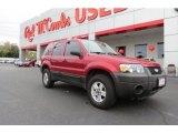2006 Redfire Metallic Ford Escape XLS #75457144