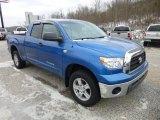 2007 Blue Streak Metallic Toyota Tundra SR5 Double Cab 4x4 #75457699