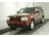 2006 Inferno Red Crystal Pearl Jeep Grand Cherokee Laredo #7513714