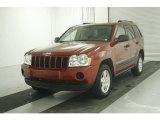 2006 Inferno Red Crystal Pearl Jeep Grand Cherokee Laredo #7513714