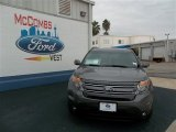 2013 Sterling Gray Metallic Ford Explorer Limited #75457118