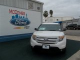 2013 White Platinum Tri-Coat Ford Explorer XLT #75457117