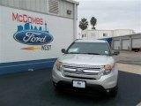 2013 Ingot Silver Metallic Ford Explorer XLT #75457116