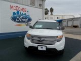 2013 Oxford White Ford Explorer FWD #75457115