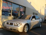 2003 Titanium Silver Metallic BMW 7 Series 745Li Sedan #75457819