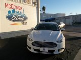 2013 Oxford White Ford Fusion S #75457107