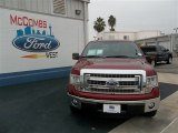 2013 Ruby Red Metallic Ford F150 XLT SuperCrew #75457104
