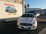 2013 White Platinum Metallic Tri-coat Ford Fusion SE #75457099