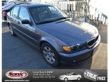2002 Steel Grey Metallic BMW 3 Series 325i Sedan #75457372