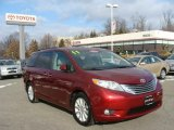 2011 Salsa Red Pearl Toyota Sienna Limited AWD #75457352