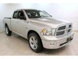 2010 Light Graystone Pearl Dodge Ram 1500 Big Horn Quad Cab 4x4 #75457657