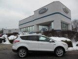 2013 Oxford White Ford Escape SE 2.0L EcoBoost 4WD #75457064