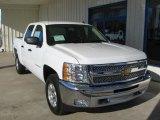 2013 Summit White Chevrolet Silverado 1500 LT Crew Cab 4x4 #75525179