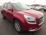 2013 GMC Acadia Crystal Red Tintcoat
