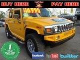 2003 Yellow Hummer H2 SUV #75524955