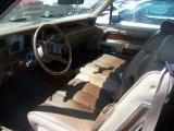 1980 Lincoln Continental Interiors