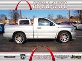 2005 Bright Silver Metallic Dodge Ram 1500 SRT-10 Regular Cab #75524192