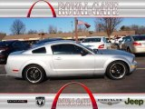 2007 Satin Silver Metallic Ford Mustang V6 Deluxe Coupe #75524190