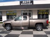 Mocha Steel Metallic Chevrolet Silverado 1500 in 2011