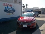 2013 Ruby Red Metallic Ford Fusion SE 1.6 EcoBoost #75524243