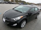 2013 Black Hyundai Elantra Limited #75524233