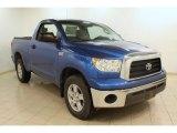 2007 Blue Streak Metallic Toyota Tundra Limited Double Cab 4x4 #75524905