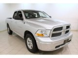 2012 Bright Silver Metallic Dodge Ram 1500 SLT Quad Cab 4x4 #75524899