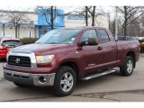 2007 Salsa Red Pearl Toyota Tundra SR5 Double Cab #75525103