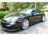 2008 Basalt Black Metallic Porsche 911 GT2 #751705