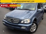 2005 Platinum Blue Metallic Mercedes-Benz ML 350 4Matic #75524774