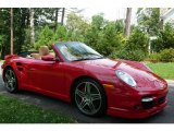 2008 Guards Red Porsche 911 Turbo Cabriolet #751704