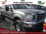 2003 Arizona Beige Metallic Ford F250 Super Duty Lariat Crew Cab 4x4 #75562280