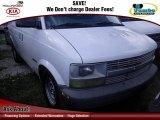2000 Ivory White Chevrolet Astro Cargo Van #75562282
